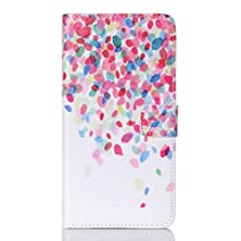 buy S6 Edge Plus Case, S6 Edge+ Case, Firefish Colorful Premium Slim Pu Leather Wallet Case [Kickstand] Flip Protective Cover With Card Slots For Samsung S6 Edge Plus / S6 Edge+ (Not For S6 Edge) -Petal