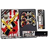 Designer Skin Sticker for the Xbox One Console With Two Wireless Controller Decals- Ghost Ops