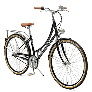 Retrospec Venus Dutch Step-Thru City Comfort Hybrid Bike