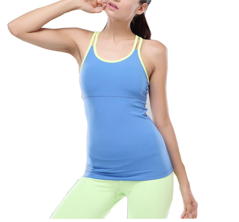 Nanxson (TM) Damen Cross Aerobic Yoga Joggen Sport Tee Top YDSYW0006 bestellen