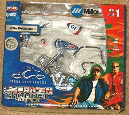 Buy OCC American Chopper The Series Miller Welder Bike 1:18 Scale