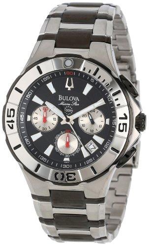 6a4e48041 Bulova Men s 98B013 Marine Star Diver s Chronograph Watch - Carolina ...