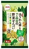 栗山米菓 ほうれん草と7品目の野菜せんべい 68g×12袋