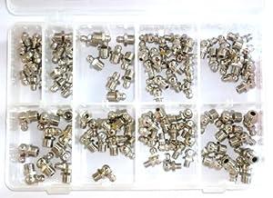 Graisseurs métriques assortis - Boîte de 110 graisseurs