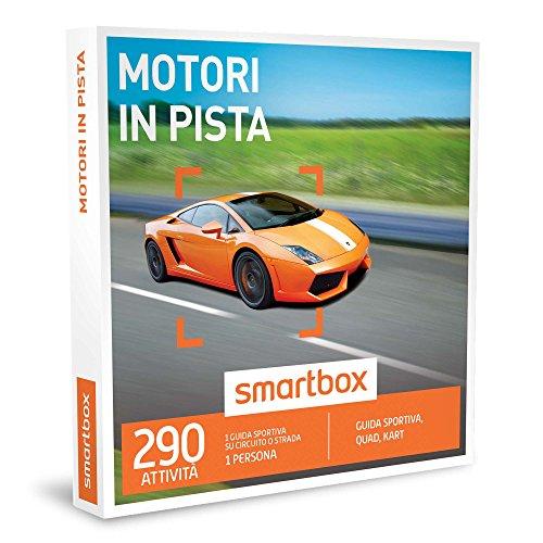 SMARTBOX - Cofanetto Regalo - MOTORI IN PISTA - Guida sportiva, quad, kart