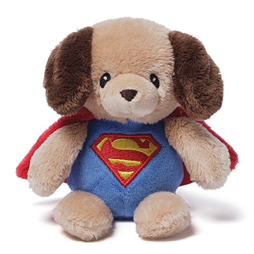 Baby Gund DC Comics Rattle Superman Griffin - 1