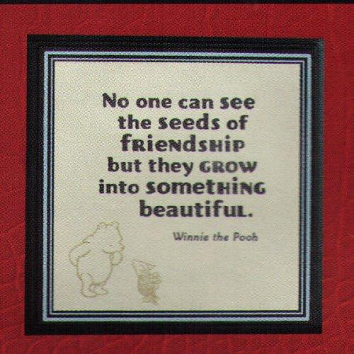 Friend quote plaque : Disney quotes about friendship