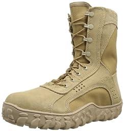 Rocky Men\'s S2V ST Work Boot,Tan,13 M US