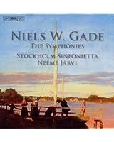 ゲーゼ:交響曲全集 (Gade : The Eights Symphonies / Jarvi) (5CD)