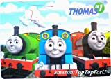 Set of 2 Licensed Thomas the Train & Friends Plastic Placemats Non-toxic Tasteless