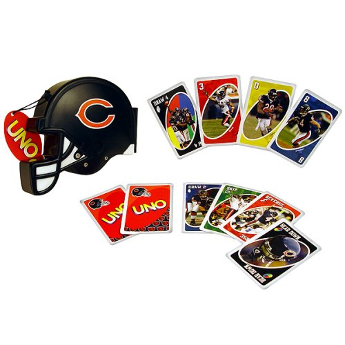 Buy Sababa Toys Chicago Bears UNO