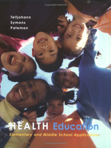 Health Education: Elementary And Middle School Applications front-677497