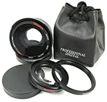 0.3X Professional High Grade Fish-Eye Lens for Sony HDR-CX350V