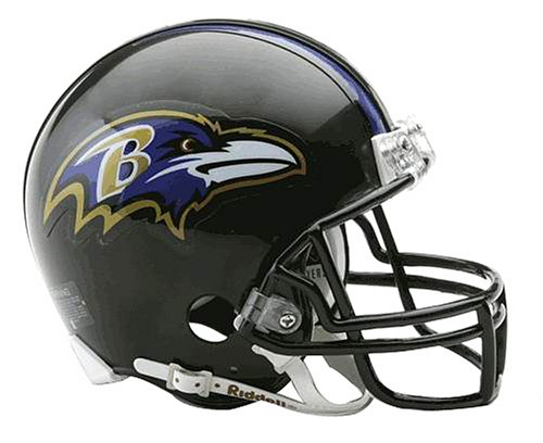 NFL Baltimore Ravens Replica Mini Football Helmet