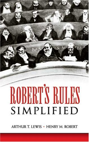 Robert&#39;s Rules Simplified