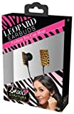 iHip Snooki Couture Fashion Leopard Earbuds (Brown/Black)