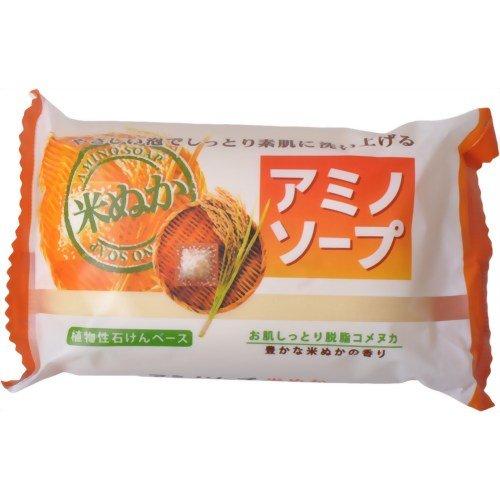 ペリカン アミノソープ 米ぬか 100g