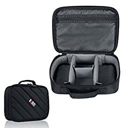 BUBM Portable Electronic Accessories Travel Organizer Case hard Drive Bag Cable Organizer Bag