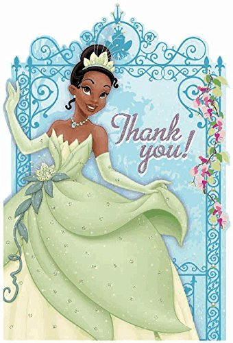 Princess and the Frog Thank-You Cards w/ Envelopes (8ct)