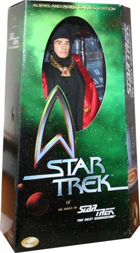 "12"" Q Star Trek The Next Generation * Aliens & Adversaries Edition * Action Figure"