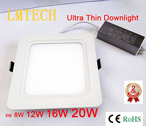 2014 New Square Led Ceiling Light 5W Ultra Thin Design Smd 2835 Ceiling Panel Light