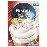 Nescafé Café Menu Cappuccino Decaff Unsweetened Taste 15 g (Pack of 6, Total 60 Units)
