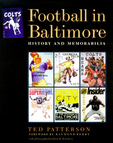 Football in Baltimore: History and Memorabilia (Ted Football compare prices)