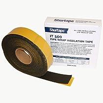 Shurtape IT-100 Foam Pipe Wrap Insulation Tape: 2 in. x 30 ft. (Black) by Shurtape
