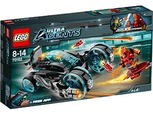 Lego Agents - 70162 - Jeu De Construction - L'interception D'infearno