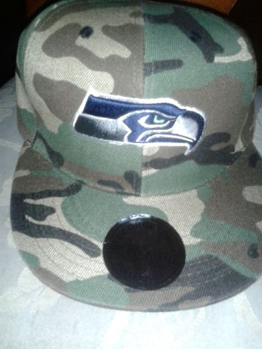 Camouflage Style Seahawks Hat at Amazon.com