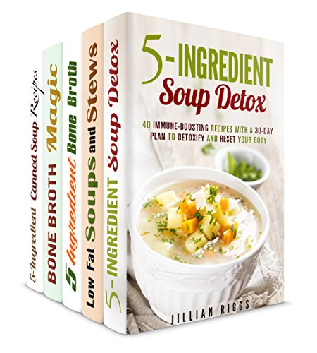 The Big Book of Soup Box Set (5 in 1): Over 150 Immune - Boosting, Quick and Easy, Healty Soups, Stews and Broths (Healthy Soups & Comfort Food) by Jillian Riggs, Sheila Hope, Melissa Hendricks, Marisa Lee