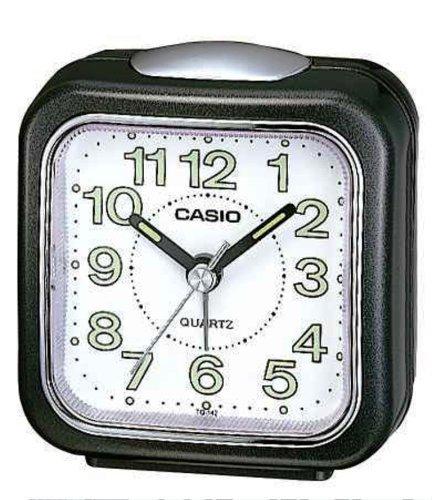 Casio - Tq-142-1Ef - Alarm Clock - Quartz - Analogue - Alarm - White Textile Strap front-585208