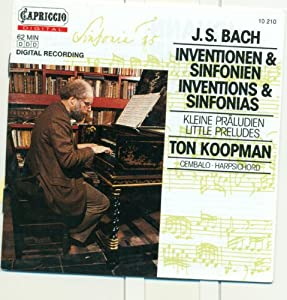 Bach J.S.: 2 Part Inventions