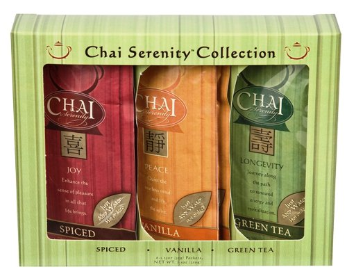 Chai Serenity Gift Box, 6-Count (Pack of 3)