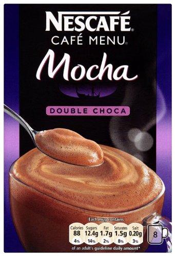 Nescafé Cappuccino Double Choca Mocha 8 Sachets 184 g (Pack of 6, Total 48 Sachets)