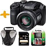 Bundle Fuji S4800 Digital Camera +Case +4GB +NiMh Batteries & Charger (Fujifilm Finepix S4800HD 16MP 30xOptical Zoom 3