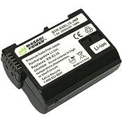 Amazon.com: Wasabi Power Battery for Nikon EN-EL15 and Nikon 1 V1, D600, D800, D800E, D7000 (FULLY DECODED!): Camera & Photo