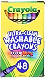 Crayola Ultra Clean Washable Crayons (48 Pack)