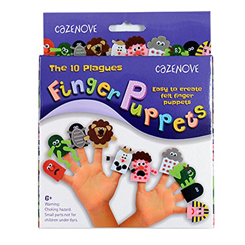 Ten Passover Plagues Felt Finger Puppet Kit