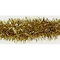 Berwick South Beach Decorative Wired Tinsel Trim, 10 Yards, Gold