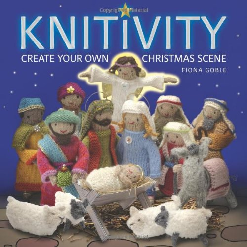 Knitting Pattern Christmas Crib Nativity Scene Booklet : Nativity Crafts