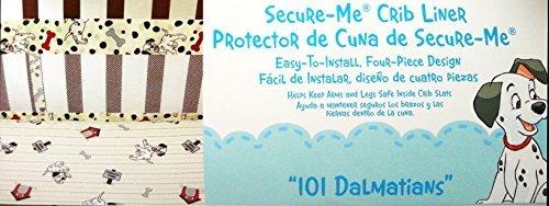 DISNEY 101 DALMATIANS SECURE-ME CRIB LINER - 1
