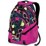 High Sierra Loop Backpack, Sunglasses Fuchsia/Pink, 19x13.5x8.5-Inch