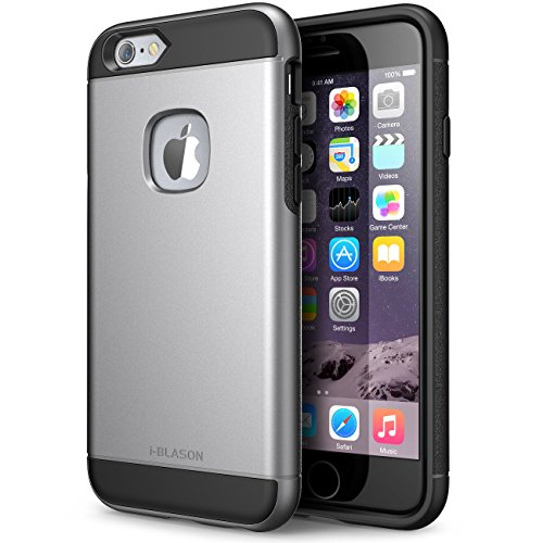 iPhone 6 Plus Case , [Heavy Duty] i-Blason Unity **Dual Layer** Apple iPhone 6 Plus 5.5 Inch cover [Ultra Slim] Armored Hybrid TPU Cover + Hard Outter Shell (iPhone 6 Plus, Space Gray)