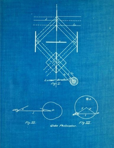 Blueprint Graph paper journal: 160 pages, 1/2 inch squares, format 8.5 x 11 inch, diary, composition book, notebook. Sof
