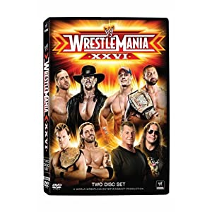 Amazon.com: WWE WRESTLEMANIA 26: Shawn Michaels, Big Show ...