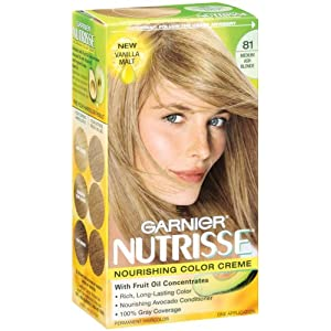 nutrisse nourishing color creme no 81 medium ash blonde