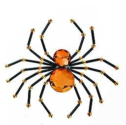Orange Spider Hair Clip by Ganz