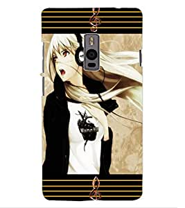ColourCraft Music Lover Design Back Case Cover for OnePlus Two