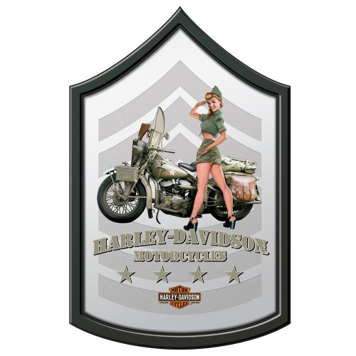 Harley-Davidson® Military Mirror - Army